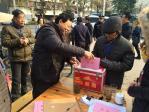 11月24日,全区选民投票选举区第十七届人大代表。图三。