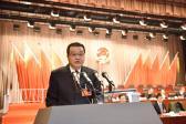1月7日,大会第二次全体会议上,金波做检察院工作报告