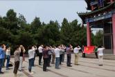 6月11日至14日,区人大机关党员干部赴枣庄接受党性教育。图一