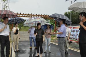 """麒麟街道人大工委组织部分人大代表视察街道""""两学一做""""学习教育工作"""