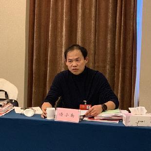 谷里街道区人大代表参加区人大十七届三次会议