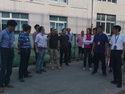 湖熟街道人大工委组织代表视察街道上半年国民经济和社会事业执行情况