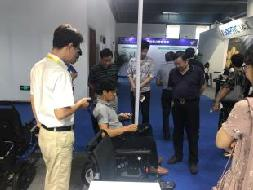 湖熟街道人大代表参观2019江宁经济技术开发区企业产品交流博览会