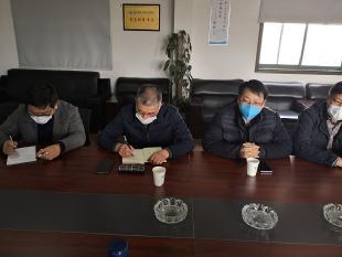 """滨江开发区人大工委:用心走访,助力企业发展,围绕落实""""三帮一包"""""""
