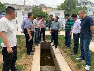 代表开展水环境污染防治专题视察活动