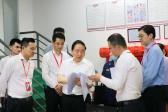 5月27日,市人大常委会党组副书记、副主任郭腊军来我区调研安全生产工作情况