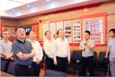 2020年5月22日,省人大常委会常务副主任李小敏在江宁考察基层人大工作